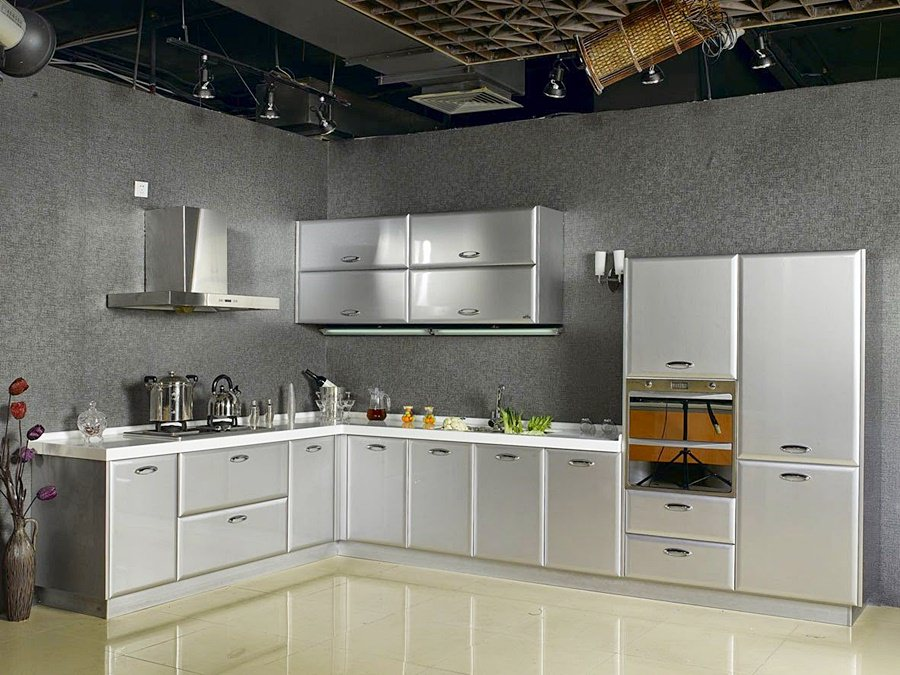 kitchenset stainless