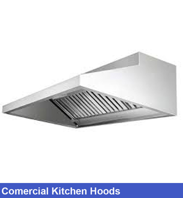 Commercial Kitchen Hoods Model Topi