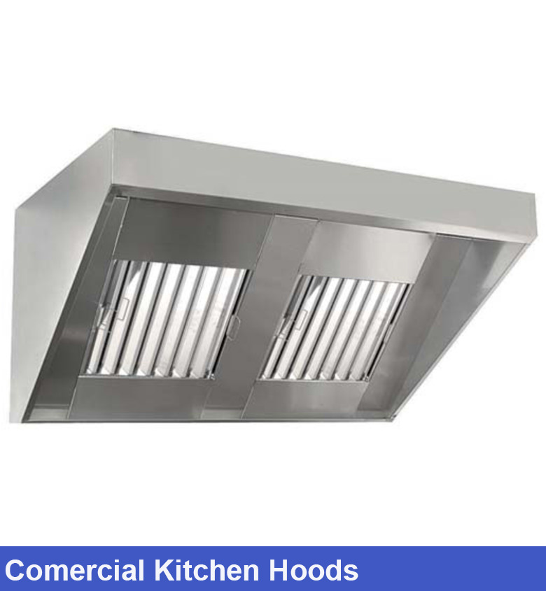 Commercial Kitchen Hoods Model Segitiga