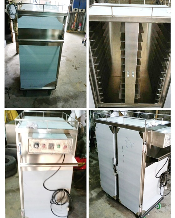 Food warmer trolley 24 tray RS Bhayangkara Palembang